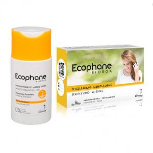 Ecophane Biorga Comp. 60unid. Oferta Champô Fortificante 100ml