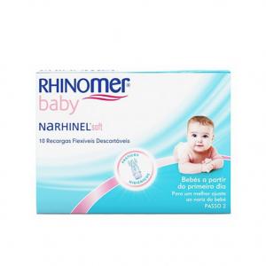 Rhinomer Baby Narhinel Soft Recargas Aspirador Nasal 10unid.