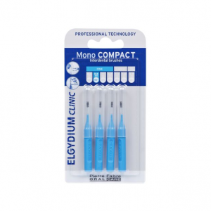 Elgydium Clinic Escovilhão 3Rec. Mono Compact Espaços Estreitos Azul