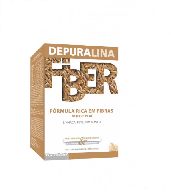 Depuralina Fiber Ventre Liso Cápsulas 60unid.