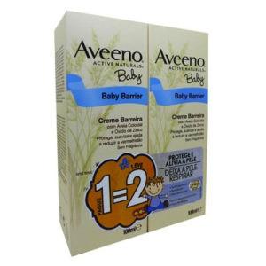 Aveeno Baby Creme Barreira Muda da Fralda 200ml (2x100ml)