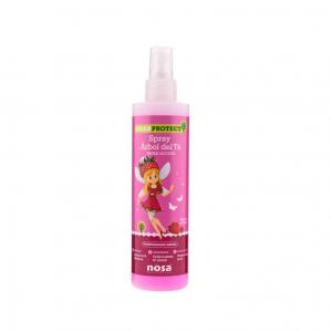 Nosa Spray Desembaraçador e Repelente Piolhos Morango 250ml