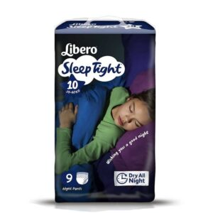 Libero Sleep Tight L (35-60Kg) 9 unid.