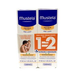 Mustela Bebé Cold Cream Rosto Duo 2x40ml
