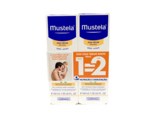 Mustela Bebé Cold Cream Rosto Duo 2x40ml