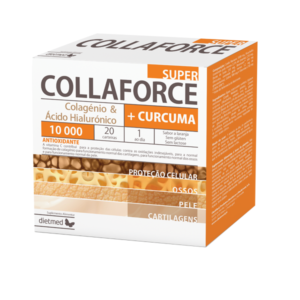 Collaforce Super Colagénio + Curcuma 20 saquetas