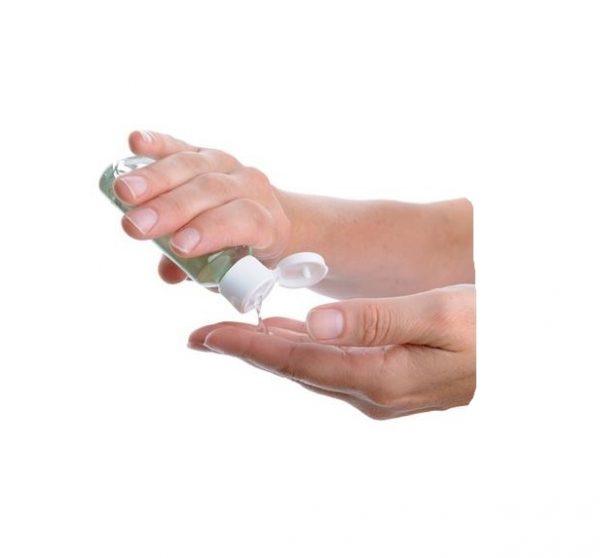 Desinfectante para mãos com Alcool a 70º de 200ml