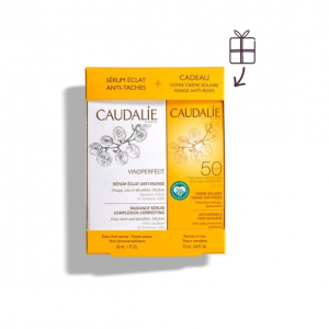 Caudalie Coffret Sérum Vinoperfect & Protector Solar 25ml
