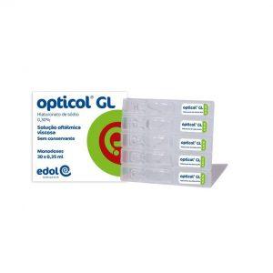 Opticol GL Solução Oftálmica MD 30 monodoses x 0,35 mL