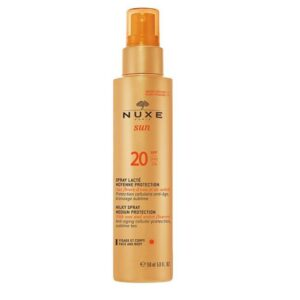 Nuxe Sun. Spray Corpo e Rosto SPF20 150ml