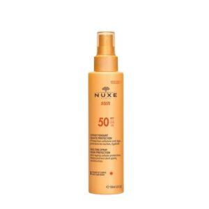 Nuxe Sun. Spray Fundente Alta Proteção SPF50150ml