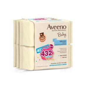 Aveeno Baby. Pack Toalhitas de Limpeza 6x72unid.
