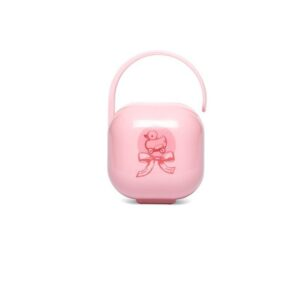 Porta-chupetas Suavinex Toys Rose Patinho rosa