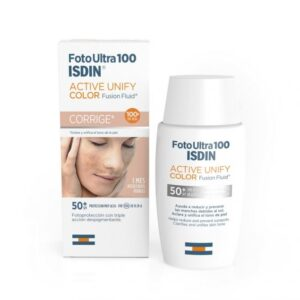 Foto Ultra 100 ISDIN Active Unify Color Fusion Fluid SPF 50+ 50ml