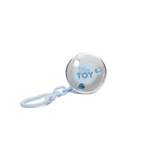 Porta-chupetas Suavinex Toys Bleu.