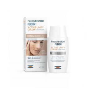 Foto Ultra 100 ISDIN Active Unify Fusion Fluid SPF 50+ 50ml